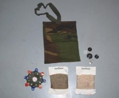 Sewing set Camo.